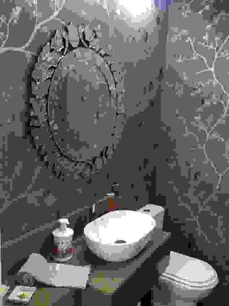Lavabo para receber bem Banheiros modernos por Laura Picoli Moderno