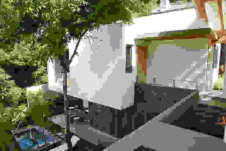 Casa Horizonte 9 Casas eclécticas de Mayúscula Arquitectos Ecléctico