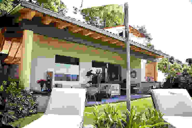 Balcon, Veranda & Terrasse originaux par Mayúscula Arquitectos Éclectique
