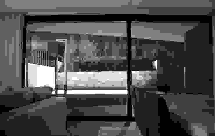 Pátios d'Este Salas de estar modernas por TRAMA arquitetos Moderno