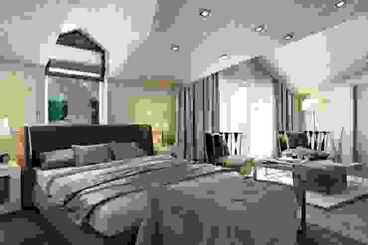 Спальня Спальня в эклектичном стиле от homify Эклектичный
