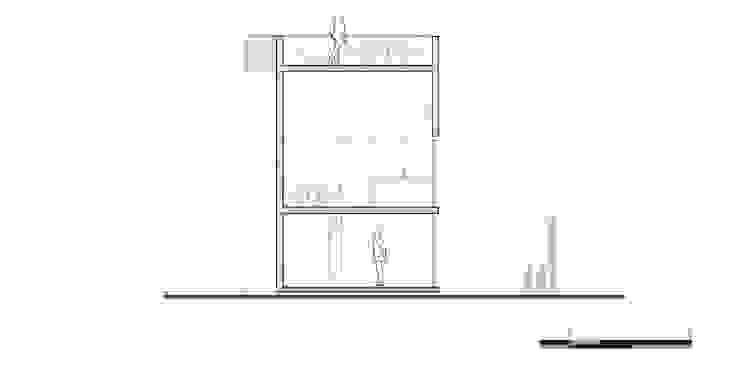 Corte Y:  de estilo industrial por Proyecto Cafeina, Industrial