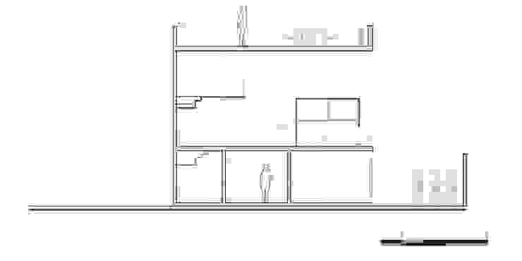 Corte Z:  de estilo industrial por Proyecto Cafeina, Industrial