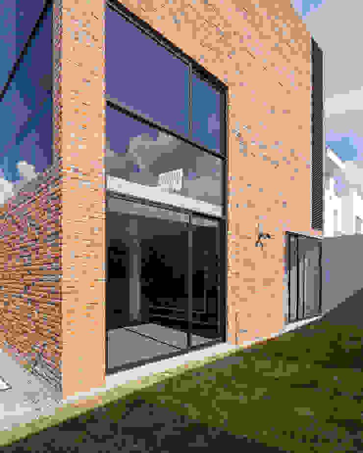 Sol 25_2 Casas industriales de Proyecto Cafeina Industrial Vidrio
