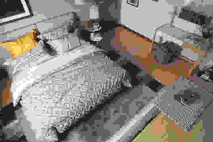 Спальня в эклектичном стиле от homify Эклектичный