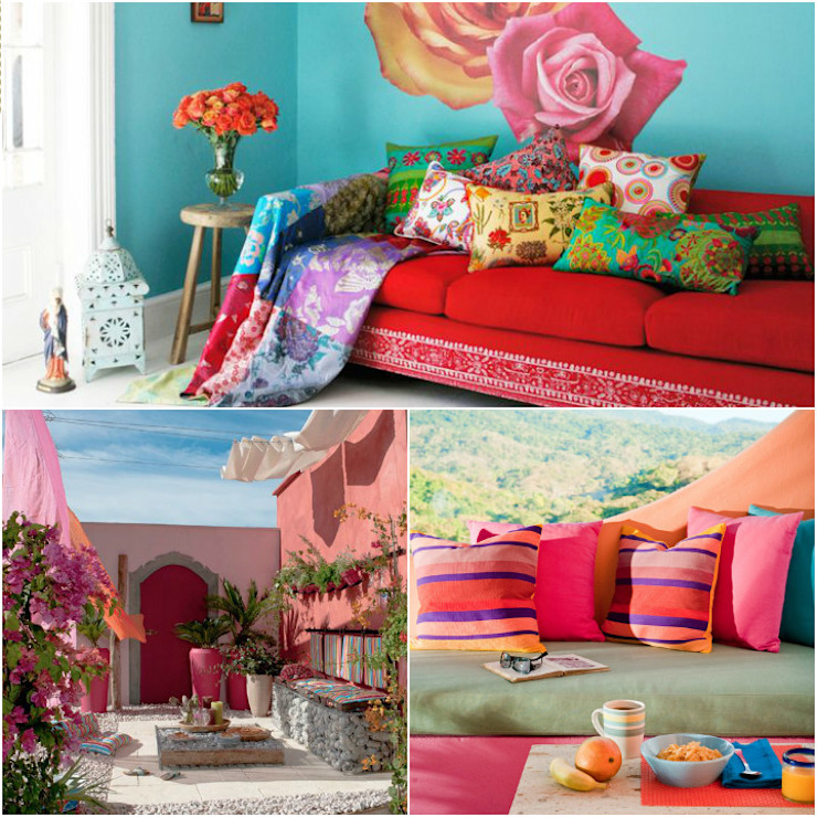 Decoração, arte e Frida Kahlo por Casa de Valentina Clássico