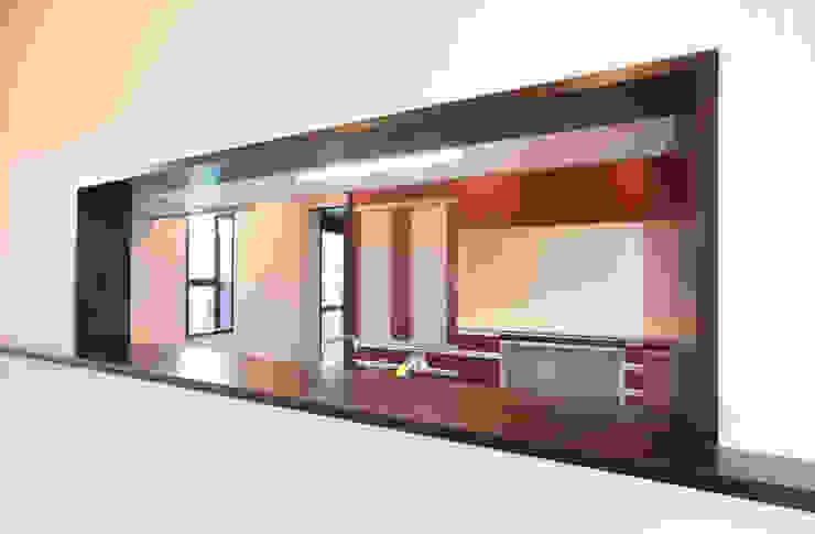 お茶屋さんの家 モダンデザインの ダイニング の 池野健建築設計室 モダン
