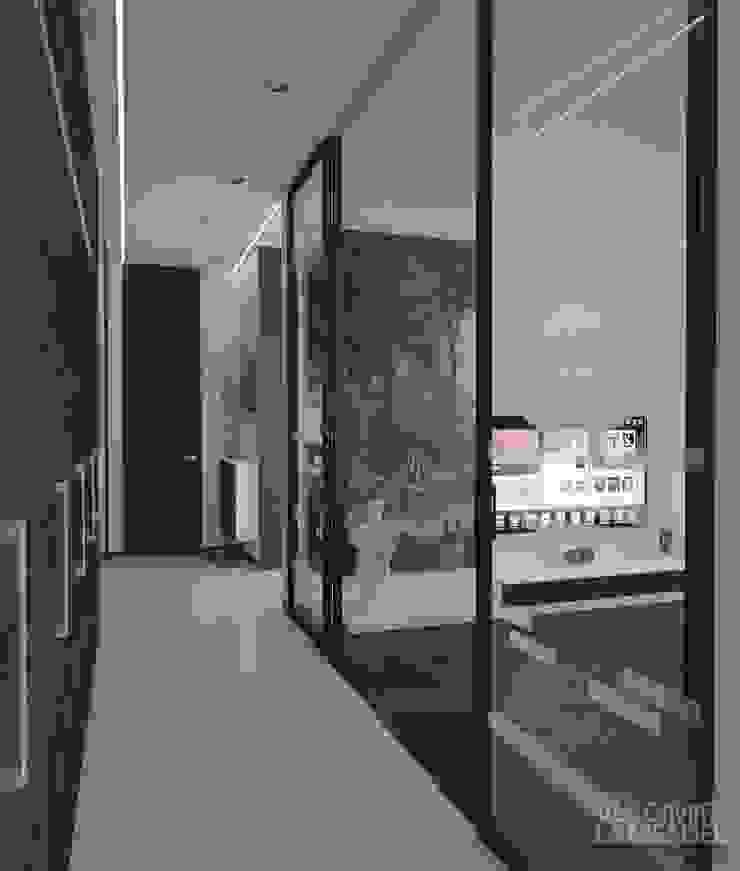 Uno mattina nebbiosa a Milano Коридор, прихожая и лестница в стиле минимализм от Laboratorio Creativo di Vladimir Lamfadel Минимализм