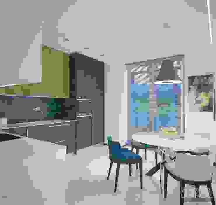Uno mattina nebbiosa a Milano Кухня в стиле минимализм от Laboratorio Creativo di Vladimir Lamfadel Минимализм