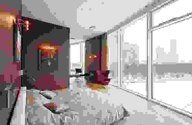 Город Яхт Спальня в стиле минимализм от БИГЛАСС СИСТЕМС Минимализм