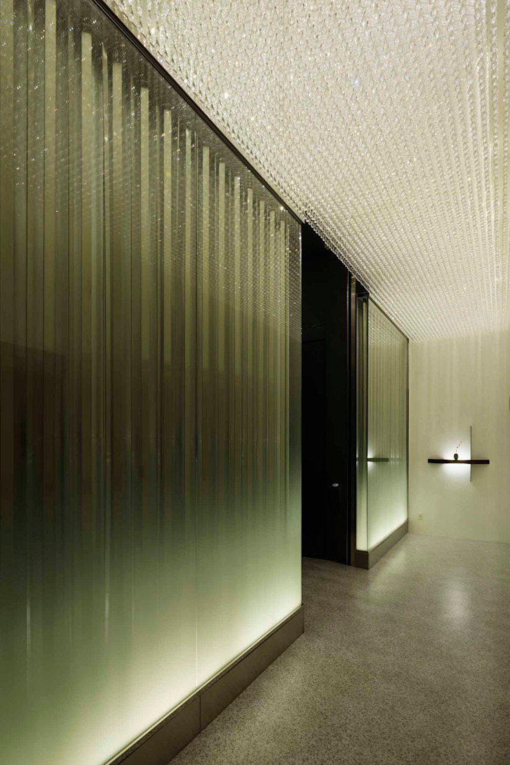 Entrance モダンスタイルの 玄関&廊下&階段 の 藤村デザインスタジオ / FUJIMURA DESIGIN STUDIO モダン ガラス