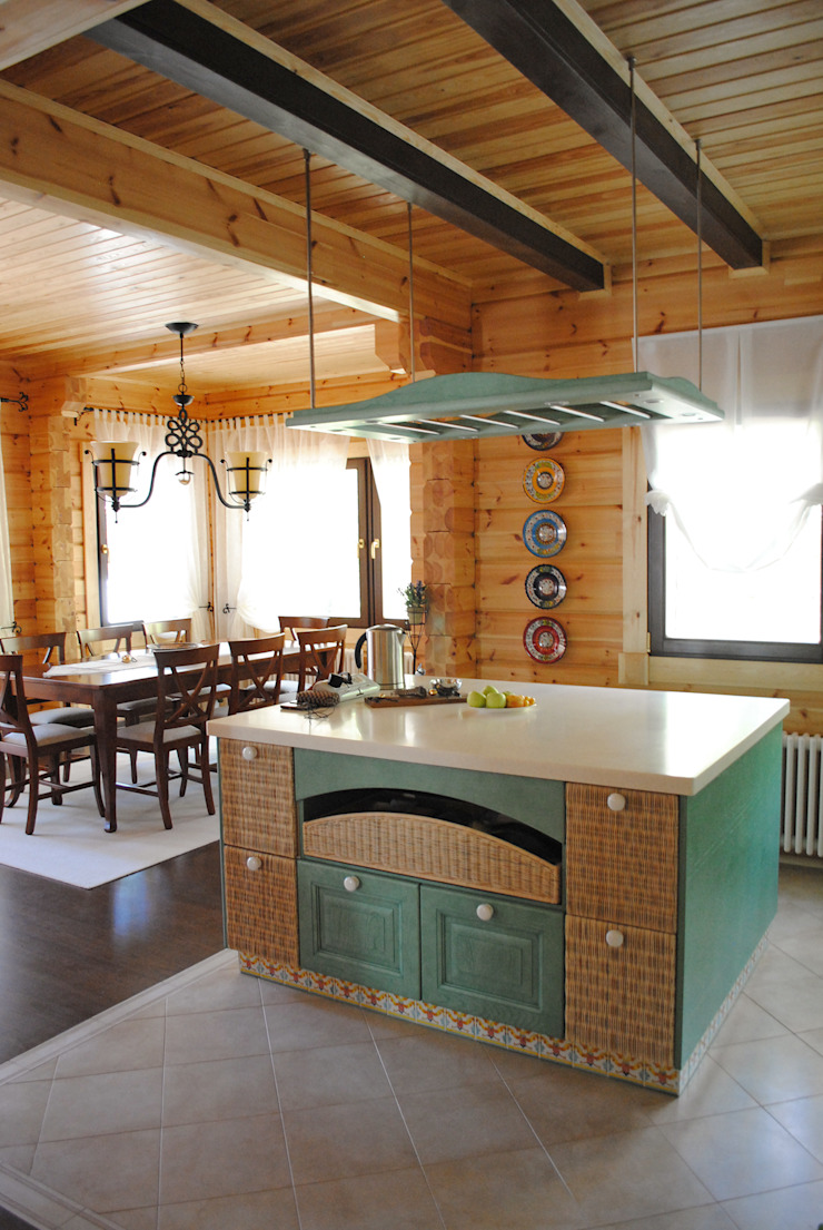 Country style kitchen by Marina Pennie Design&Art Country