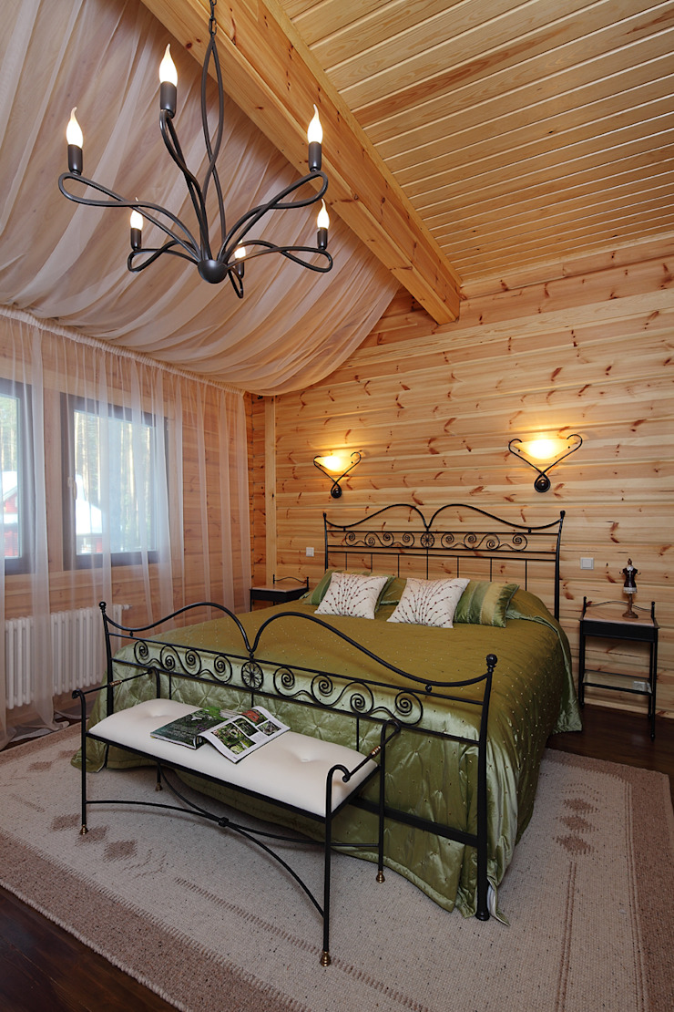 Country style bedroom by Marina Pennie Design&Art Country