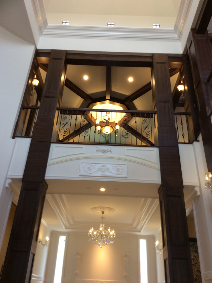 施工事例1 モダンデザインの テラス の ㈱K2一級建築士事務所 モダン