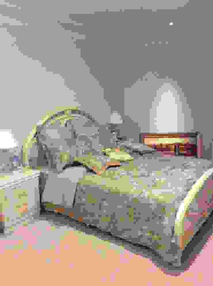 施工事例1 モダンスタイルの寝室 の ㈱K2一級建築士事務所 モダン