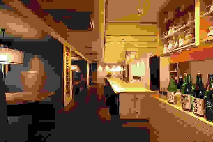 1F アジア風レストラン の 株式会社DESIGN STUDIO CROW 和風
