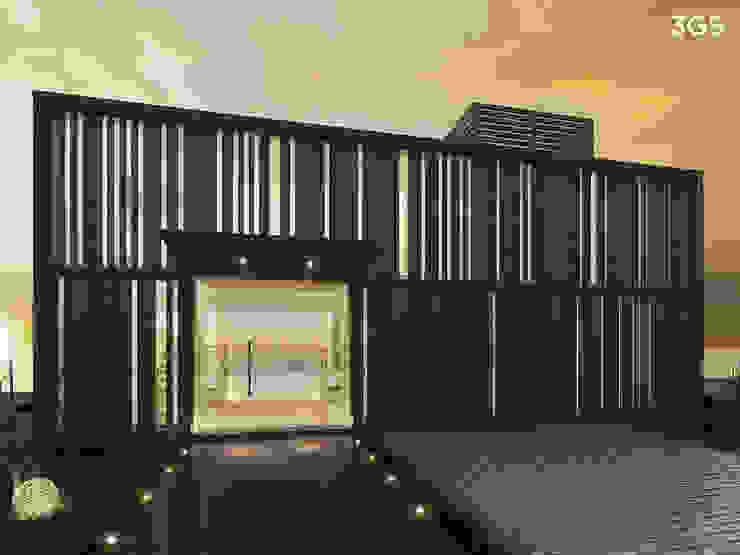 3GS Render 3GS render Casas modernas