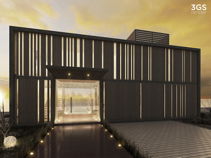 3GS Render Casas modernas de 3GS render Moderno