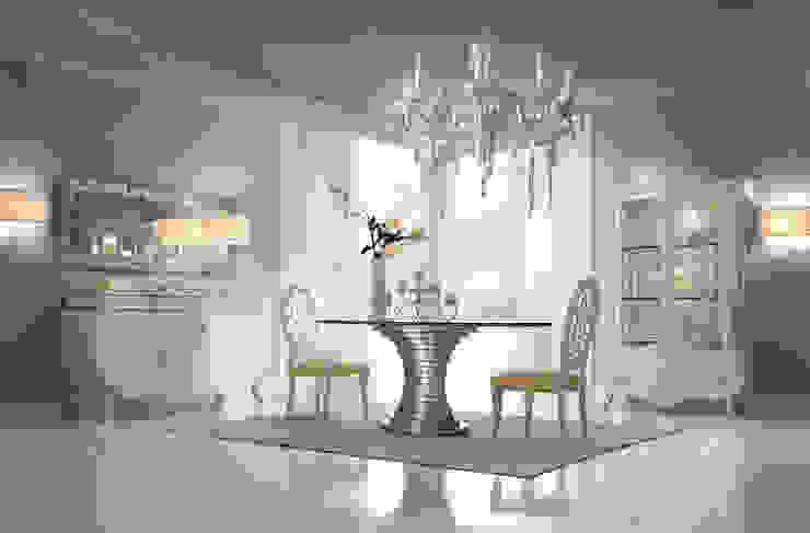 Realizzazioni Classic style dining room by Maestri Artigiani S.r.l. Arredamenti Classic