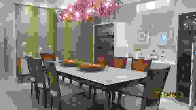 Projeto Modern Dining Room by alessandrabecel Modern