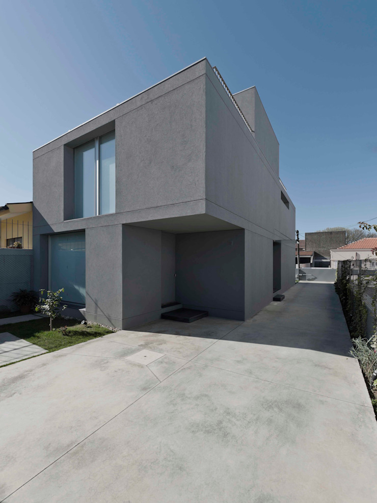 Casa em Matosinhos II Casas modernas por Jorge Domingues Arquitectos Moderno