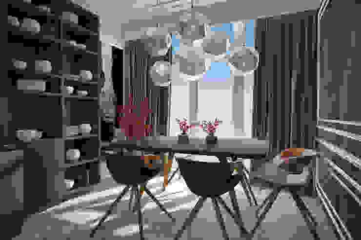 Emancipation Столовая комната в стиле модерн от U-Style design studio Модерн