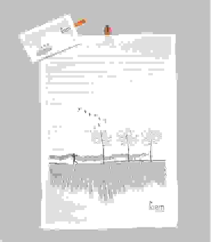 Tea Towel Traveler nr.1 van kiem - way of life... Scandinavisch