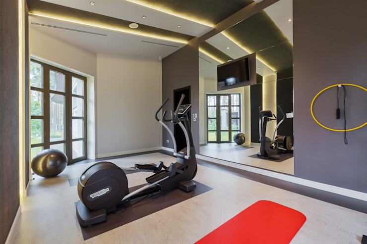 Modern gym by U-Style design studio Modern