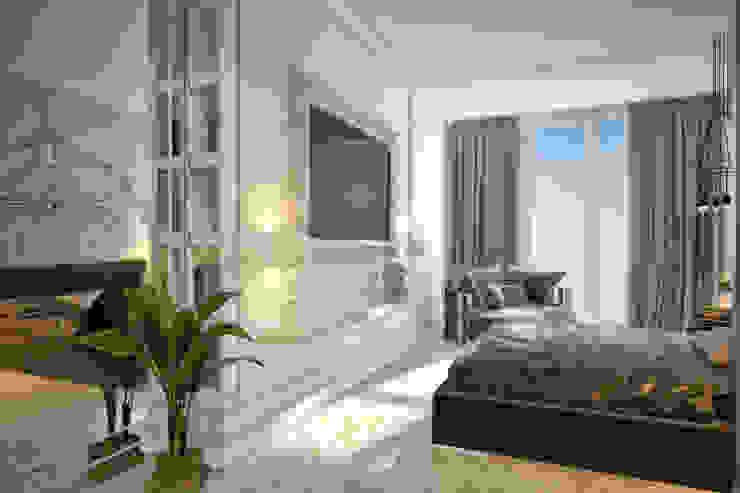 Emancipation Спальня в стиле модерн от U-Style design studio Модерн
