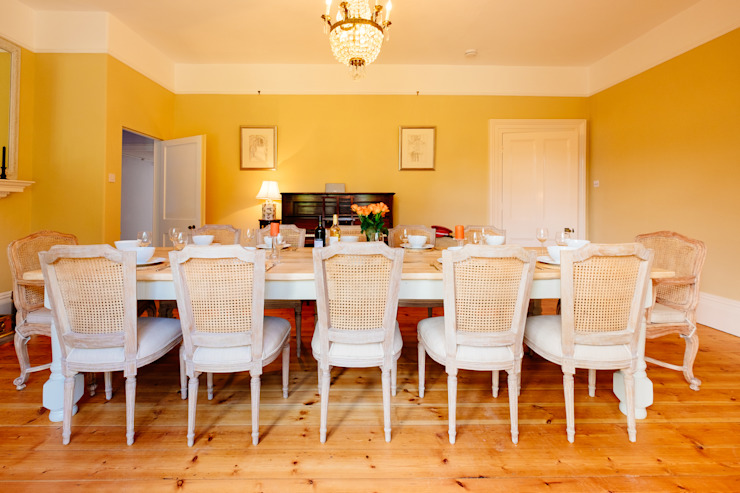 The Downes, Instow | North Devon Country style dining room by Perfect Stays Country