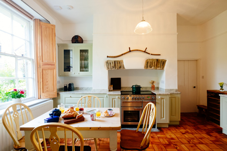 The Downes, Instow | North Devon Cocinas de estilo rural de Perfect Stays Rural