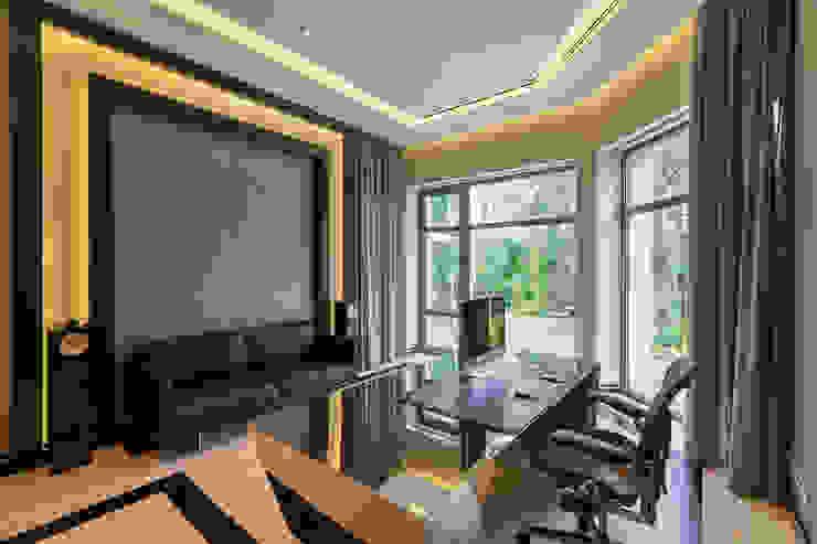 Projekty,  Domowe biuro i gabinet zaprojektowane przez U-Style design studio, Nowoczesny