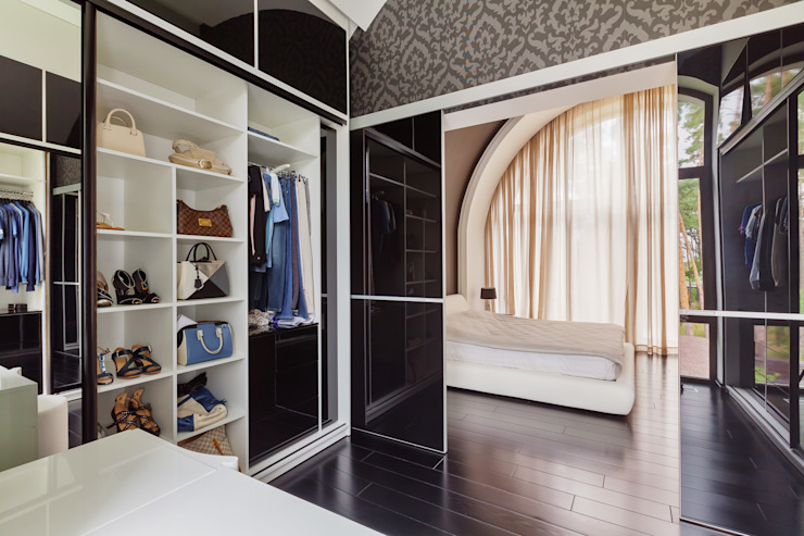 Modern dressing room by YOUSUPOVA Modern