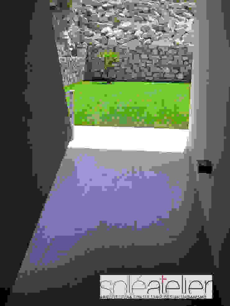 Casa TENEDÓRIO, Loivo Jardins modernos por SOLE ATELIER, LDA Moderno