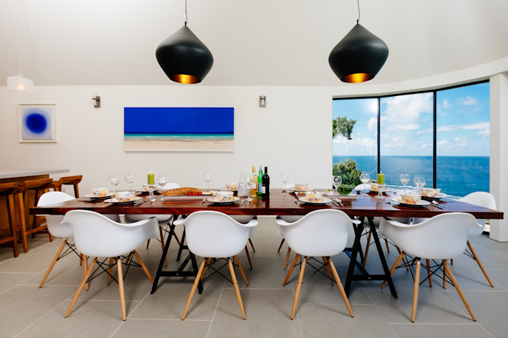 Gwel an Treth Modern dining room by Perfect Stays Modern