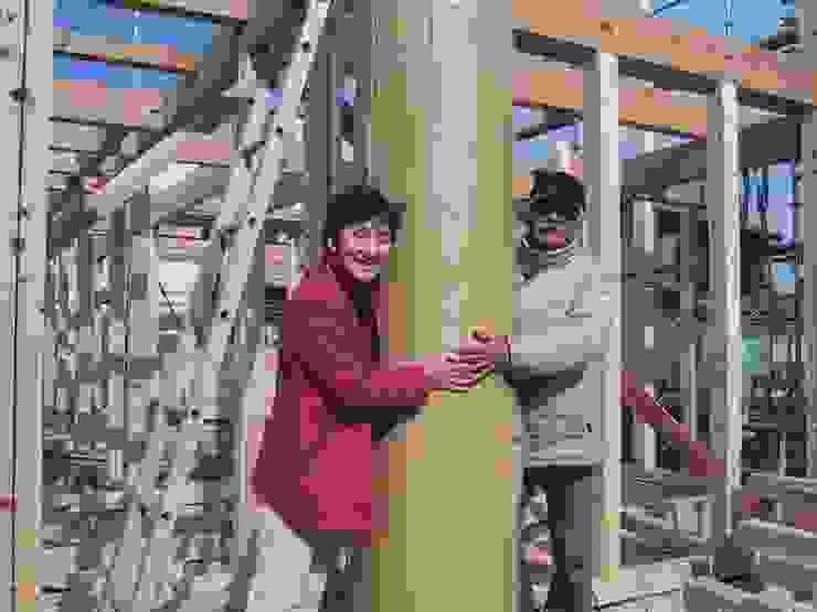 大樹の家 モダンデザインの 多目的室 の 川窪設計工房 モダン