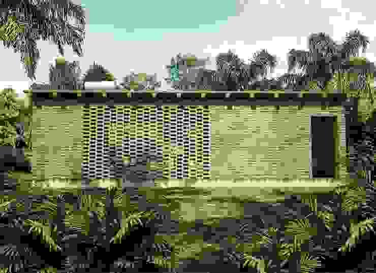 Casas de estilo  por GET ARQUITECTURA