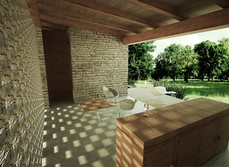 Patios by GET ARQUITECTURA,