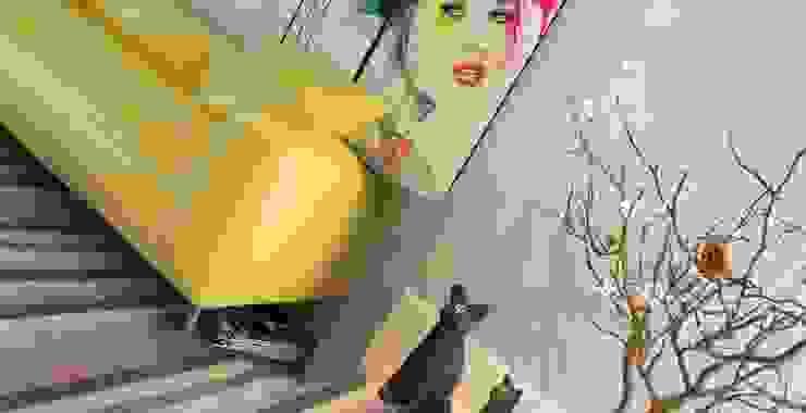 Abb Design Studio – Concept (Living room) – Minimalist : minimalist tarz , Minimalist