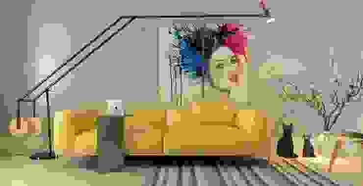 Abb Design Studio – Concept (Living room) - Minimalist : minimalist tarz , Minimalist