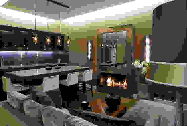 غرفة المعيشة تنفيذ Keir Townsend, حداثي