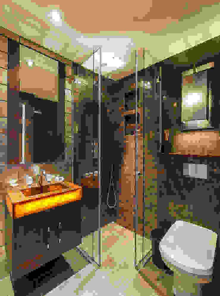 KT-31 Bramham Gardens Ванная комната в стиле модерн от Keir Townsend Модерн