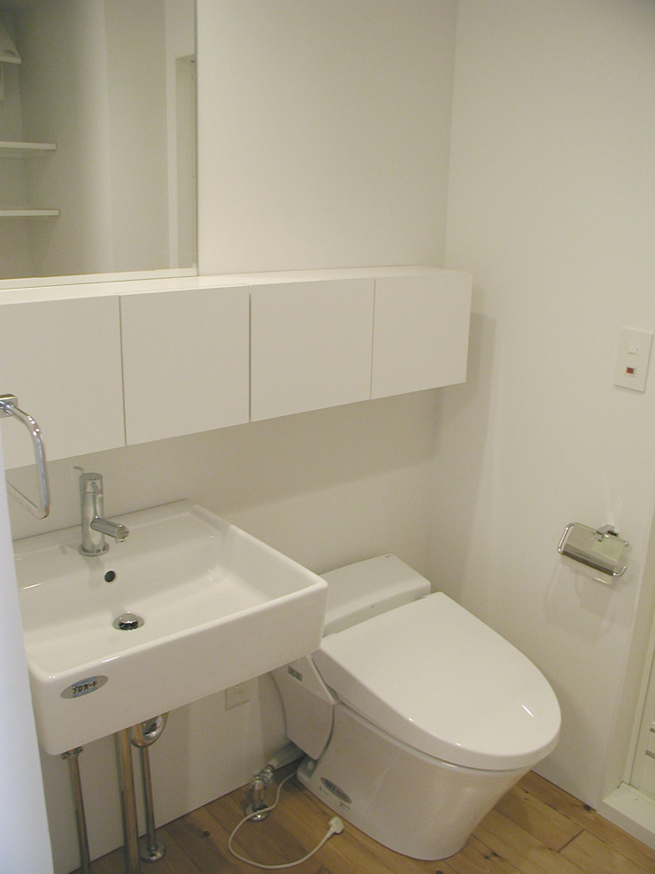 Bタイプ 水回り オリジナルスタイルの お風呂 の Unico design一級建築士事務所 オリジナル