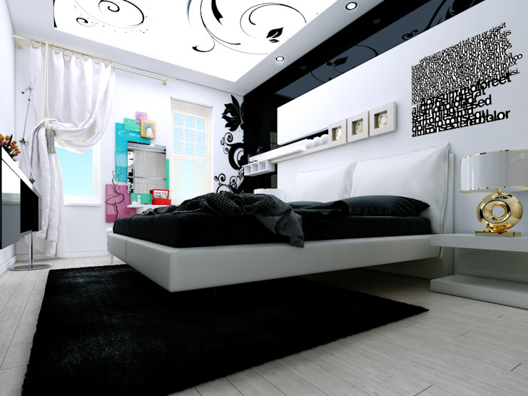 Modern style bedroom by Abb Design Studio Modern