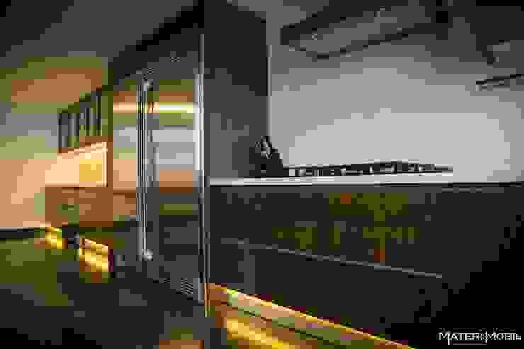Cocina Reforma Monte Blanco Cocinas modernas de Mater & Mobil Moderno