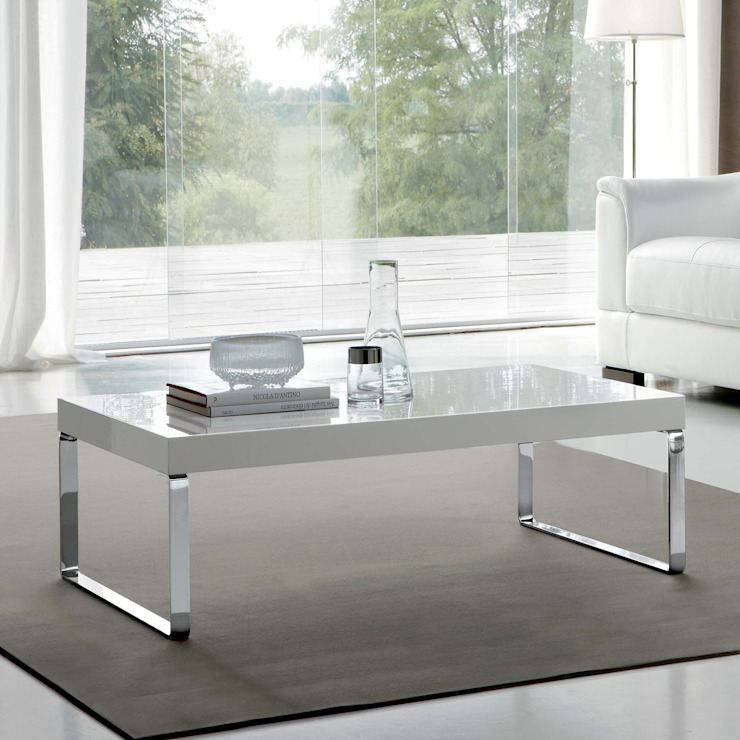'Anna' coffee table by La Primavera de My Italian Living Moderno Tablero DM
