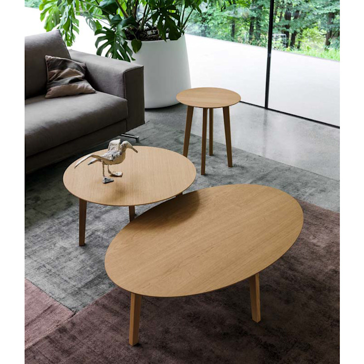 'Large Zoe' wooden coffee table by Dall'Agnese de My Italian Living Moderno Madera Acabado en madera