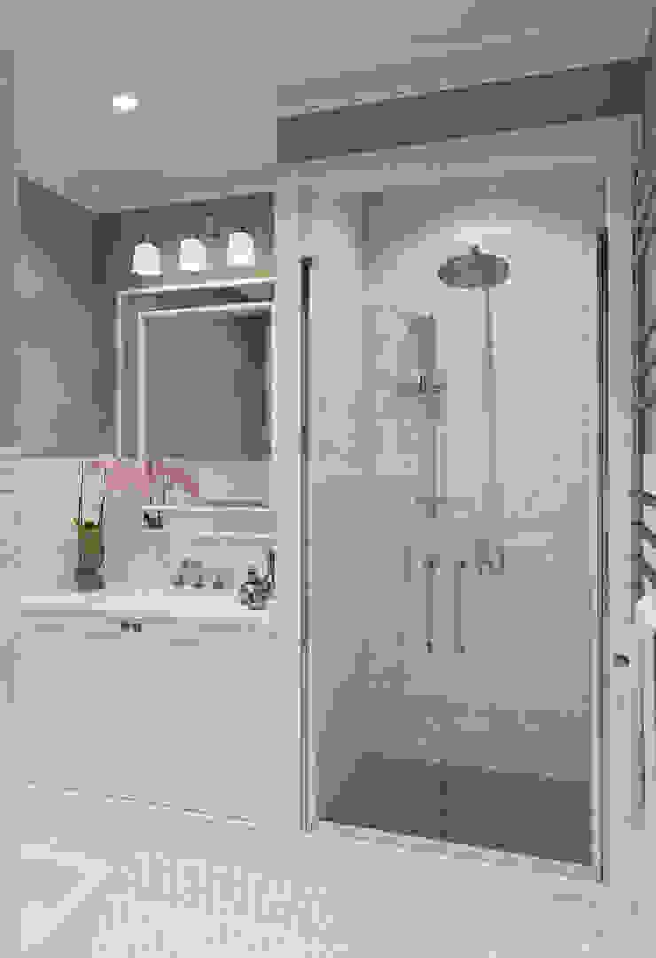 Квартира в ЖК Форт Кутузов Ванная комната в эклектичном стиле от MARION STUDIO Эклектичный