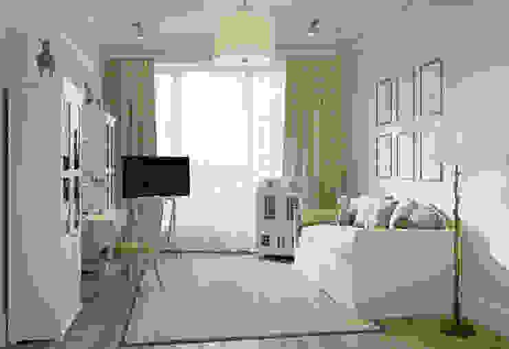 Квартира в ЖК Форт Кутузов Детские комната в эклектичном стиле от MARION STUDIO Эклектичный