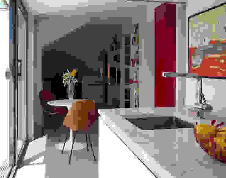 Loft Parco Nomentano - Roma in&outsidesign Cucina moderna